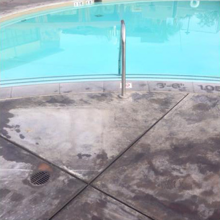 Pool Deck Cleaning Ecofriendly